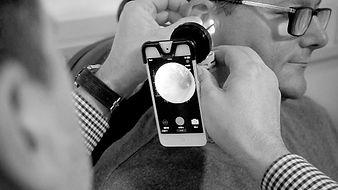 endoscope hearing test