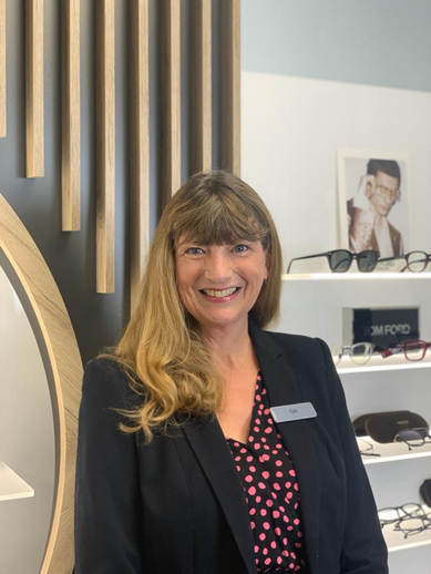 Gill Pigram - Optical Assistant
