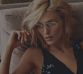 Attractive women wearing glasses