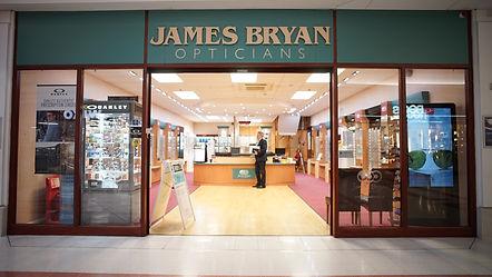 James Bryan Opticians location Chelmsfor
