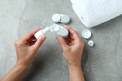 Contact Lenses Care
