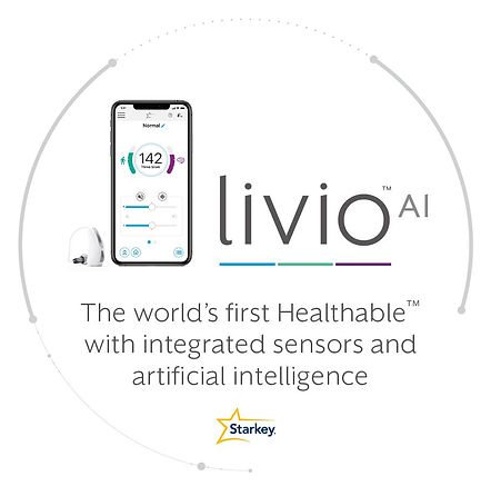 WearLivio AI hearing aid with artificial intelligencethe