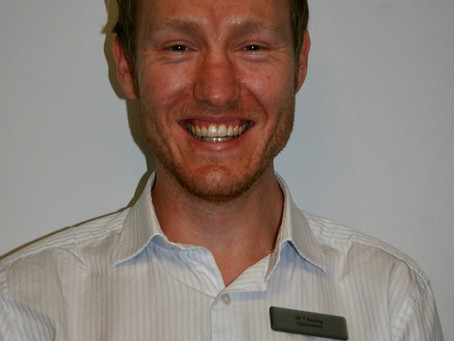 Meet Our New Optometrist…..Tim Boyling
