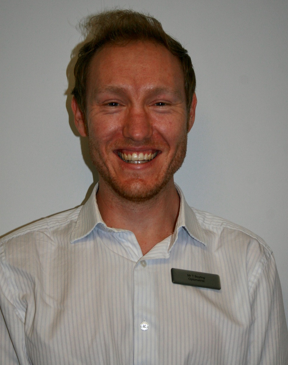 Cooper & Leatherbarrow optometrist Tim Boyling