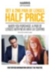 Harris Glasses Promotion