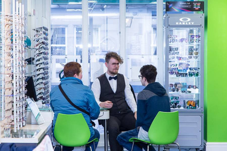 Opticians Customers