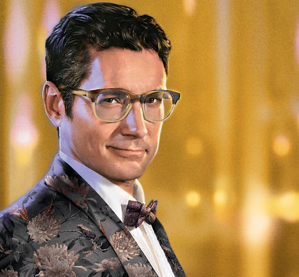 Man with ted baker london frames