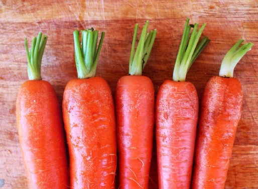 Can carrots really help us to see in the dark?