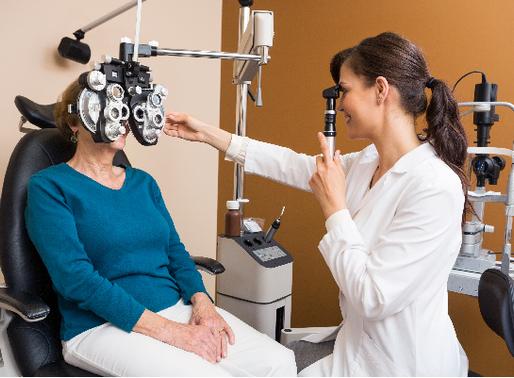 Can an eye test detect aneurysm?