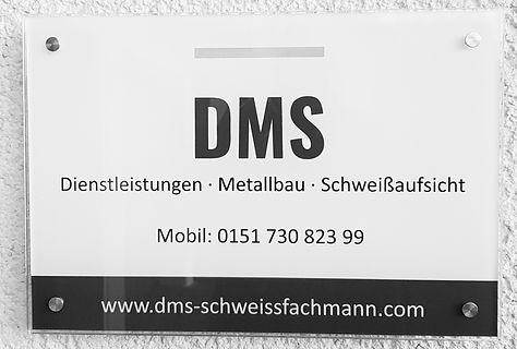 DMS Schweißaufsicht extern