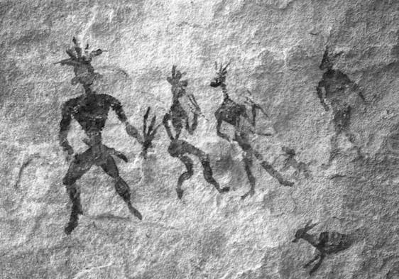 Bushman art in the KwaZulu-Natal Drakensberg, South Africa