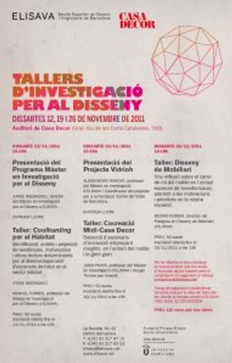 Seminario MIDI en Casadecor Barcelona : Investigación para el Diseño