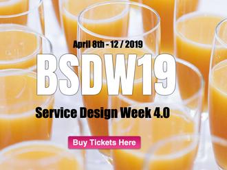 BSDW19 Service Design Week 4.0