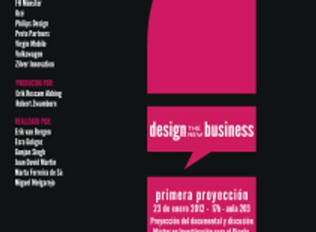 "Cineforo ""DESIGN THE NEW BUSINESS"" en Elisava"