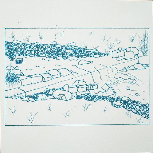 Limited Edition Blueprints Bistritsa lll