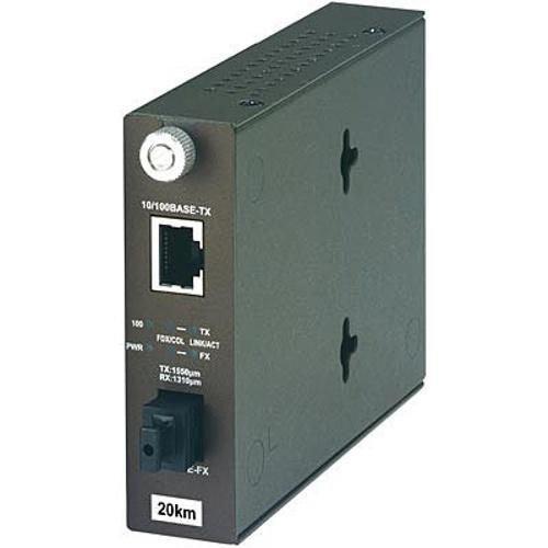 TRENDnet 100Base-TX to 100Base-FX Dual Wavelength Single Mode SC Fiber Converter
