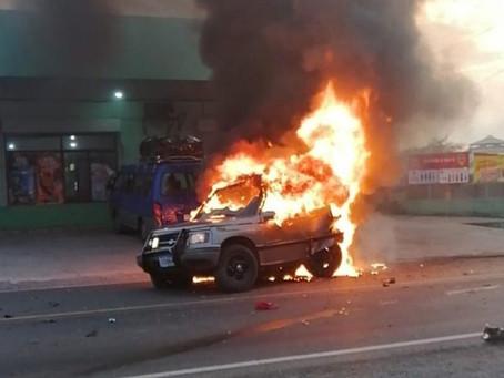 ¿Porqué los vehículos se incendian?