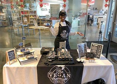 Jerica Buchanon Vegan Cheesecake Company