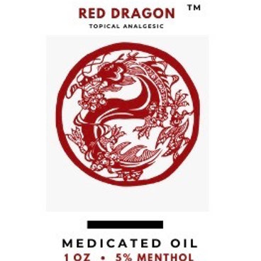Red Dragon- Medicated Oil for Muscle Pain