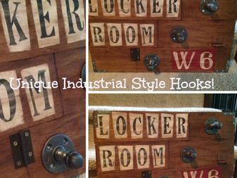 Locker Room Industrial Style