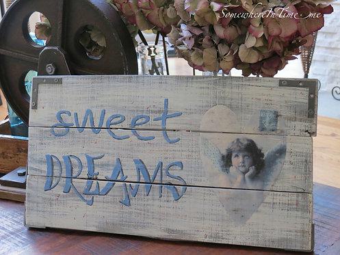 Sweet Dreams Pallet Art