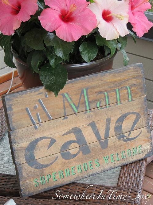 Lil' Man Cave - Personalize it!