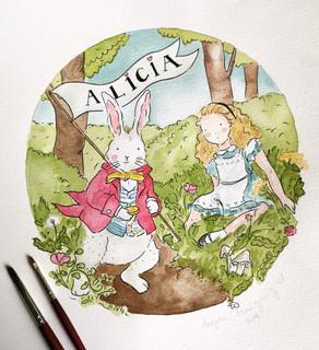 Alicia y el Conejo