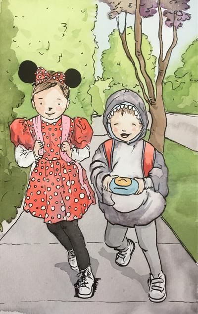 Minnie y el Tiburón