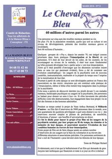 Le Cheval Bleu N°13