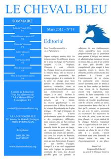 Le Cheval Bleu N°18
