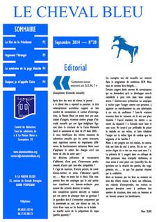 Le Cheval Bleu N°20