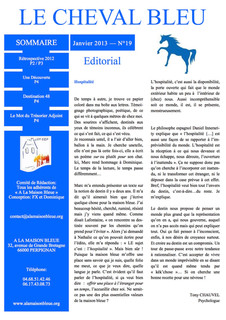 Le Cheval Bleu N°19