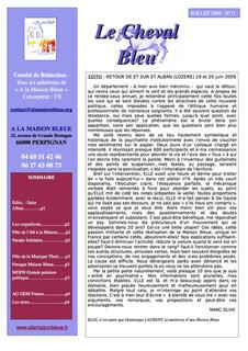 Le Cheval Bleu N°11