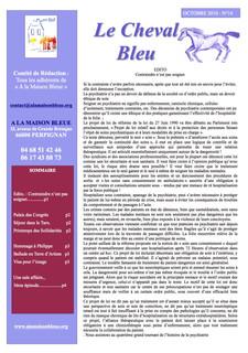 Le Cheval Bleu N°14