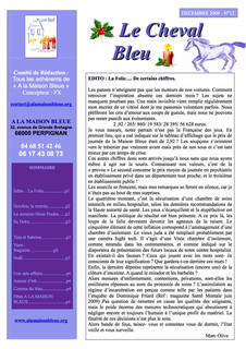 Le Cheval Bleu N°12