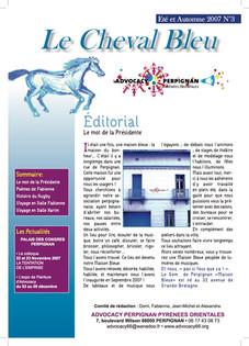 Le Cheval Bleu N°3