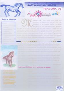 Le Cheval Bleu N°2