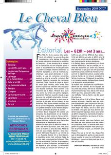 Le Cheval Bleu N°7