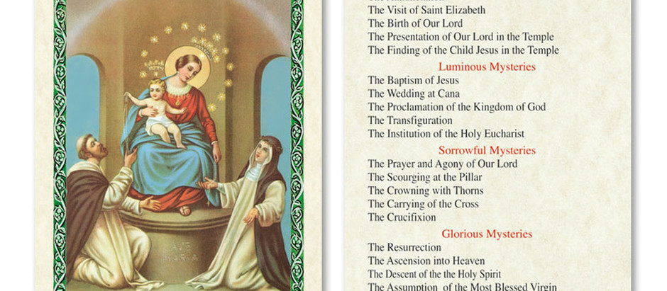 Reflections on the Glorious Mysteries of the Rosary