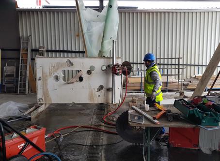 ÜK 3 der Bauwerktrenner Klasse 2016