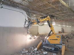 Kurs: Betonrückbau mit elektr. Abbruchroboter