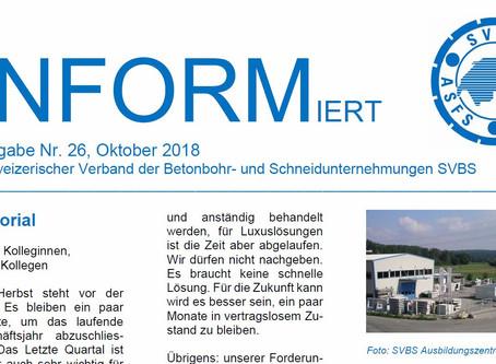 Newsletter INFORMiert Nr. 26