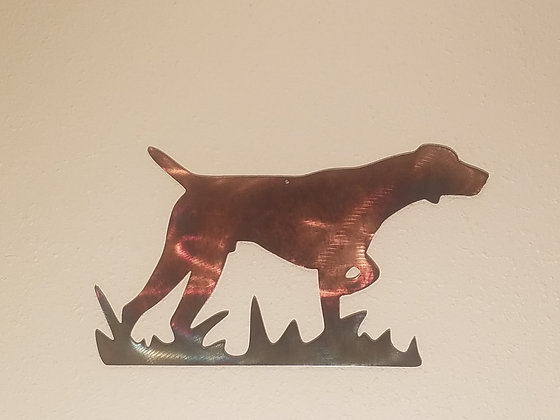 German Shorthaired Pointer Silhouette