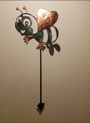 Bee on stake (custom work)