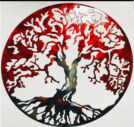 Tree of Life Autumn Fire