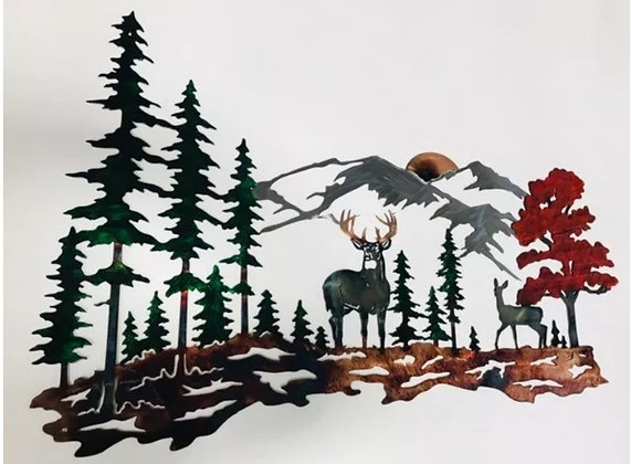 Whitetail Mountain Scene