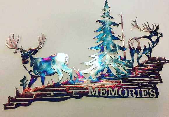 """Memories"" (custom piece)"