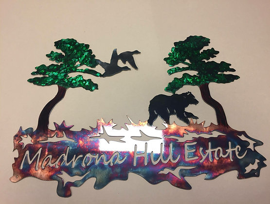 """Madrona Hill"" (custom piece)"