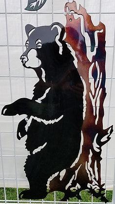 Large Scratching Bear