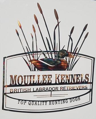 """""""Mouillee Kennels"""" (custom piece)"""